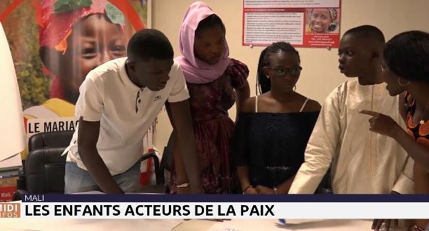 Mali : les enfants acteurs de la paix