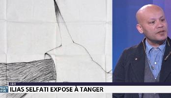 Ilias Selfati expose à Tanger