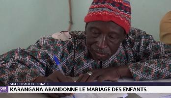 Mali: la commune de Karangana abandonne le mariage des enfants