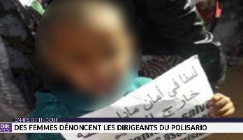 Camps de Tindouf: des femmes dénoncent les dirigeants du Polisario