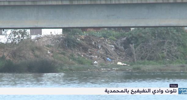 روبورتاج .. تلوث وادي النفيفيح بالمحمدية