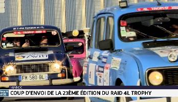 Maroc: coup d'envoi de la 23ème édition du raid 4L Trophy