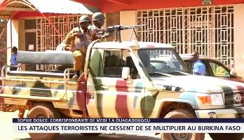 Burkina Faso: recrudescence des attaques terroristes