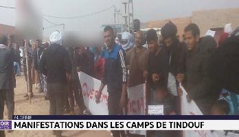 Manifestations dans les camps de Tindouf