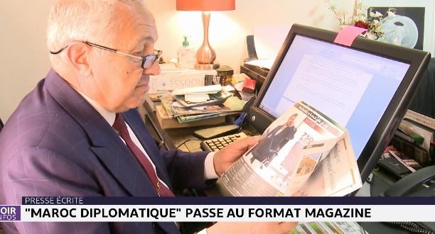 Maroc diplomatique passe au format magazine