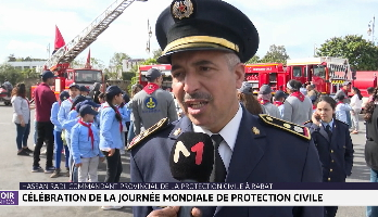 Maroc:Célébration de la journée mondiale de protection civile