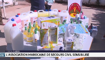 L'Association marocaine de secours civil sensibilise au coronavirus