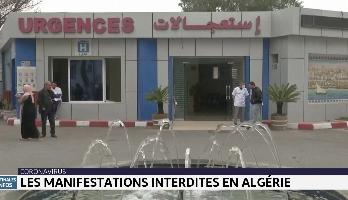 Coronavirus: les manifestations interdites en Algérie