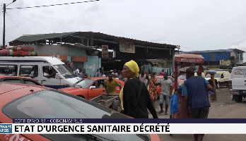 Coronavirus: l'état d'urgence décrété en Côte d'Ivoire