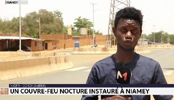 Niger: un couvre-feu nocturne instauré à Niamey