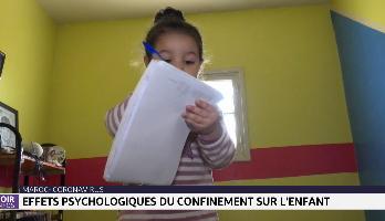 Quels effets psychologiques du confinement sur l'enfant ?