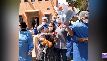 فيديو.. شفاء سائح فرنسي وأسرته من فيروس كورونا بمراكش