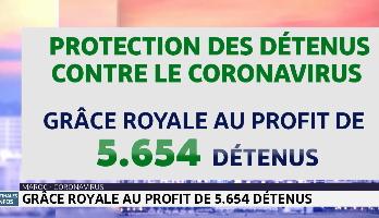 Maroc: grâce royale au profit de 5.654 détenus