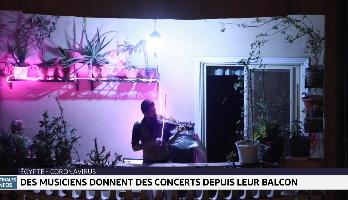 Coronavirus/Égypte: des musiciens donnent des concerts depuis leur balcon