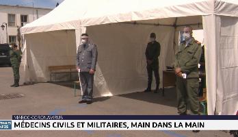 Coronavirus: médecins civils et militaires mobilisés à Larache