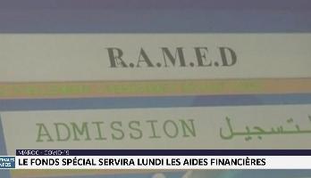 Covid-19: le Fonds spécial servira lundi les aides financières aux Ramedistes