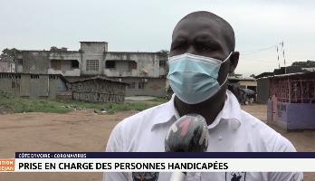 Covid-19: prise en charge des personnes handicapées en Côte d'Ivoire