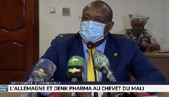 Coronavirus: l'Allemagne et Denk Pharma au chevet du Mali