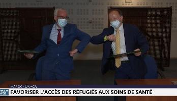Maroc-UNHCR: favoriser l'accès des réfugiés aux soins de santé