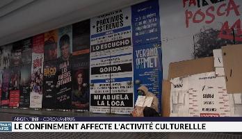 Argentine: le confinement affecte l'activité culturelle