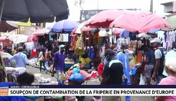 Gabon: soupçon de contamination de la friperie en provenance d'Europe