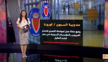 شاشة تفاعلية .. خطة عمل المندوبية العامة لإدارة السجون وإعادة الإدماج للتصدي لكورونا