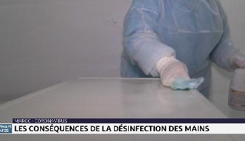 Coronavirus: les effets secondaire de l'usage intensif du gel hydroalcoolique