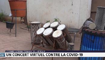 Journée internationale de l'Afrique: un concert virtuel contre Covid-19