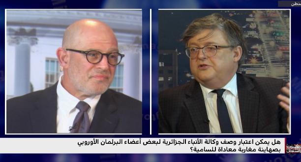 ويليام لورنس: الجزائر كانت تجهز لحرب تصريحات