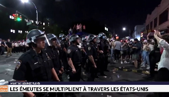 Mort de George Floyd: les émeutes se multiplient à travers les Etats-Unis