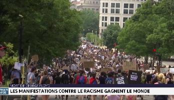 Mort de George Floyd: les manifestations contre le racisme gagnent le monde