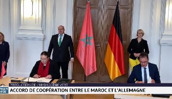 Production de l'hydrogène vert: accord de coopération entre le Maroc et l'Allemagne