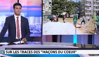 """Gabon: sur les traces des """"maçons du cœur"""""""