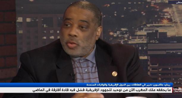 رينارد جاكسون يتحدث عن دور المغرب ورؤيته لتوحيد الصف الإفريقي