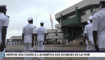 Côte d'Ivoire: reprise des cours à l'académie des sciences de la mer