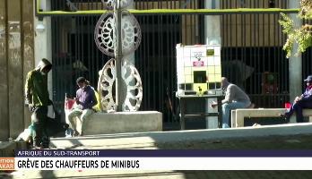 Afrique du Sud: grève des chauffeurs de minibus