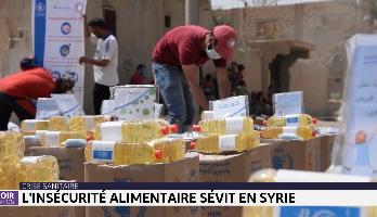 Crise sanitaire: l'insécurité alimentaire sévit en Syrie