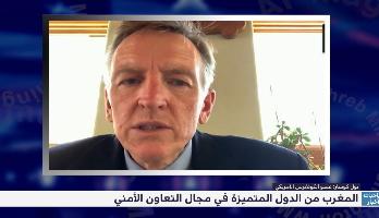 عضو الكونغرس الأمريكي بول كورسار: المغرب من الدول المتميزة في مجال التعاون الأمني