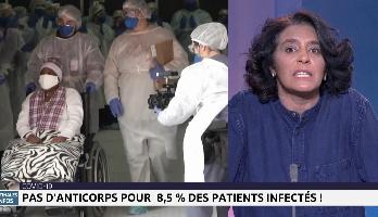 Chronique matinale: pas d'anticorps pour 8,5% des patients infectés !