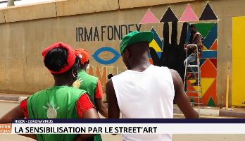 Niger: la sensibilisation par le street'art