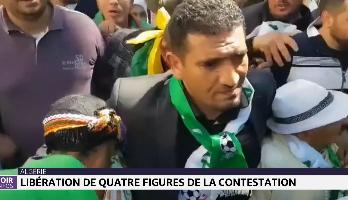 Algérie: libération de quatre figures de la contestation