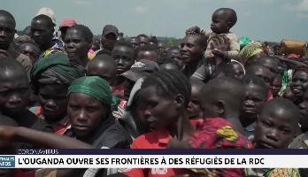 L'Ouganda ouvre ses frontières à des réfugiés de la RDC