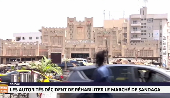 Sénégal: les autorités décident de réhabiliter le marché de Sandaga