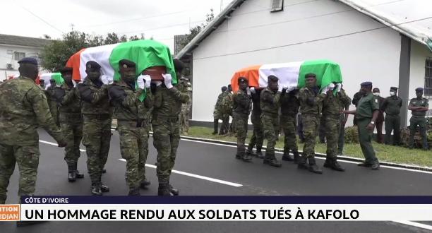 Côte d'Ivoire: un hommage rendu aux soldats tués à Kafolo