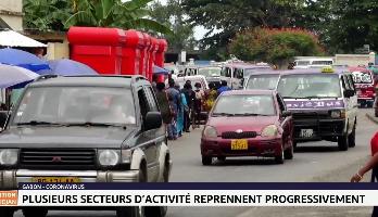 Gabon-Coronavirus: plusieurs secteurs d'activité reprennent progressivement