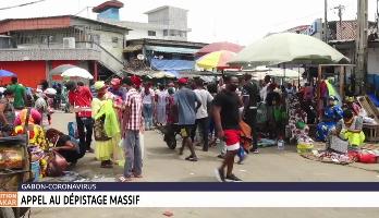 Appel au dépistage massif au Gabon