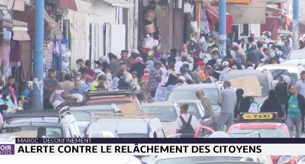 Coronavirus: alerte contre le relâchement des citoyens au Maroc