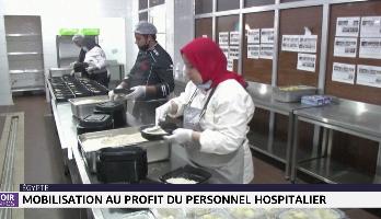 Egypte: mobilisation au profit du personnel hospitalier