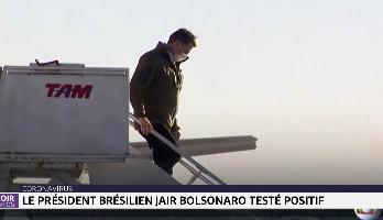 Coronavirus: le président brésilien Jai Bolsonaro testé positif