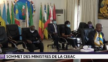 Gabon: sommet des ministres de la CEEAC